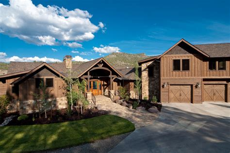 One Story Craftsman Style Homes by Brasada Ranch Style Homes Traditional Exterior Other