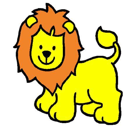 Imagenes De Leones Bebes Animados | dibujos de leones beb 233 s animados imagui
