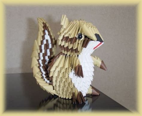 3d Origami Squirrel - 216 best images about origami 3d origami on