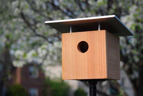 diy modern birdhouse  woodworking
