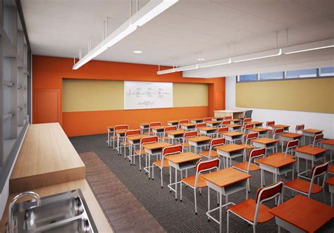 going to school for interior design orange county classroom gets quot greenovated quot lpa inc