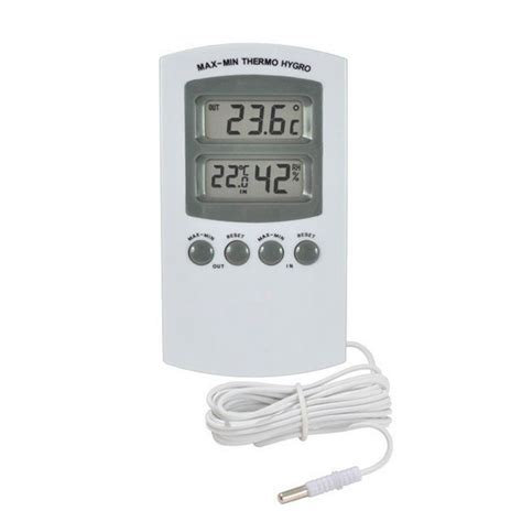 Thermo Hygro Digital thermometer hygrometer in out thermo hygrometer in