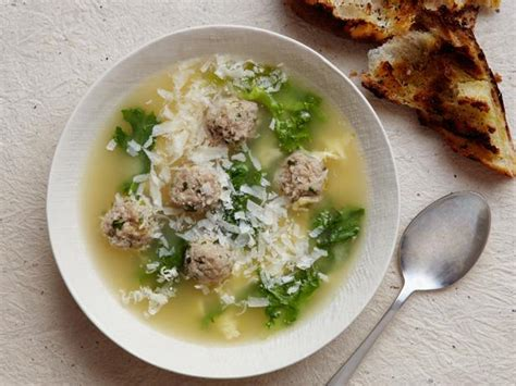 italian soup italian wedding soup recipe giada de laurentiis food
