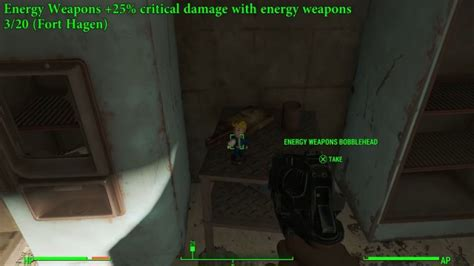 bobblehead at fort hagen fallout 4 bobbleheads locations guide
