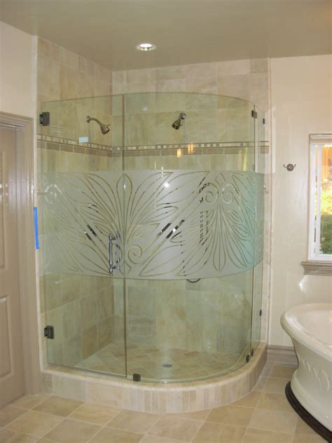Custom Frameless Shower Doors Custom Frameless Shower Door Designs Www Tapdance Org
