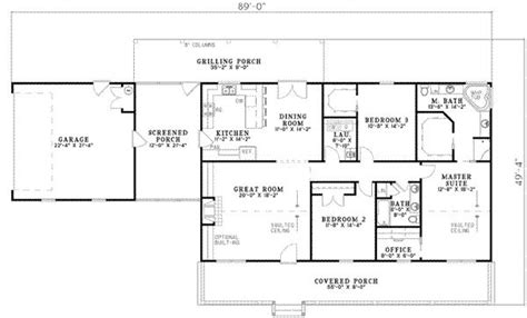 1000 Ideas About Ranch Style House On Pinterest Ranch 1800 House Plans For Rebuilding