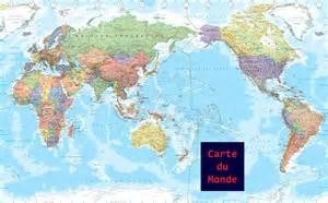 carte du monde en fran 231 ais