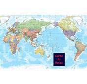 Carte Du Monde Vierge • Voyages  Cartes