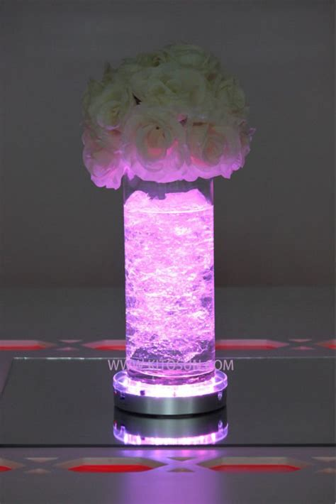 Lights For Vases by Free Shipping Led Wedding Centerpiece 8 Quot Light Up Vase Base