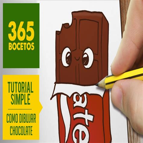 imágenes kawaii fáciles de hacer o dibujar un chocolate kawaii paso a paso dibujos kawaii