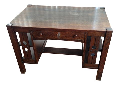 arts and crafts desk antique mission oak desk antique furniture