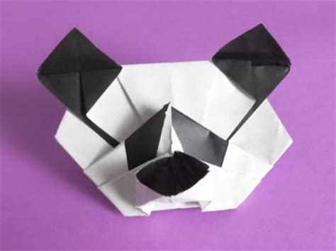 Easy Origami Panda - make an origami panda