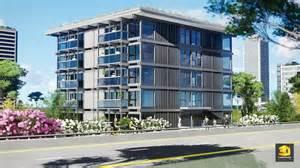 immeuble de bureaux le quartz 3dgraphiste fr