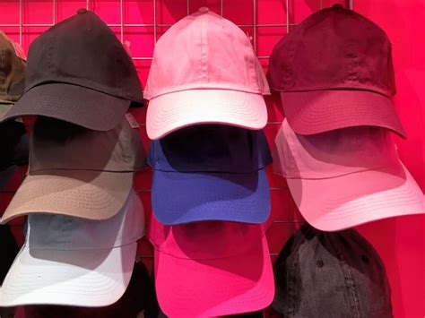 Topi Basebal Pink Muda Polos Baseball Cap Bright Baby Pink Hat Import Topi Baseball Pink Muda Fashion Wajib Remaja Jepang