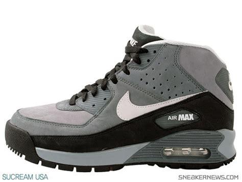 air max 90 boots nike air max 90 boot stealth white flint grey
