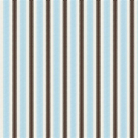 Sunbrella Window Awnings Blue And Brown Ribbon Stripe Fabric By The Yard Blue