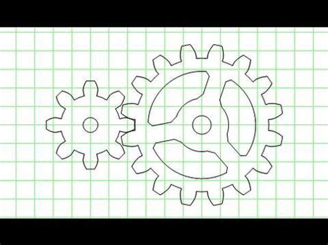 printable gear templates gear template generator feature tour youtube