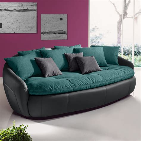 Braunes Sofa Weiße Möbel 3365 by Designer Wanduhren