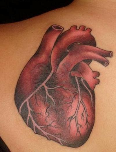 real heart tattoo feminine and hearts tattoos artist ideas