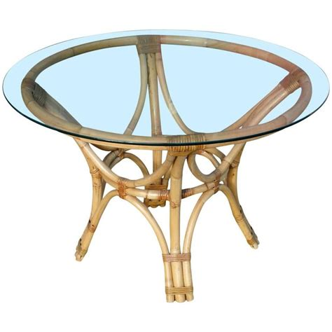 rattan dining tables rattan bentwood dining table with glass top for sale