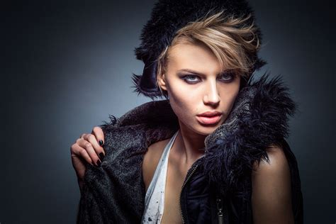 dark haired beautiful women modeling clothes free images girl female singer fur model studio
