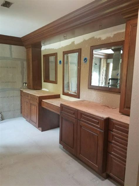 Woodcraft Cabinets by Bathroom Cabinets To Match The Crown Molding Esoteric