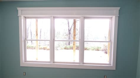Easy Curb Appeal Projects - craftsman style window trim