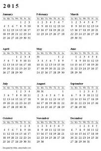 Calendar 2015 To 2017 A New Year Two