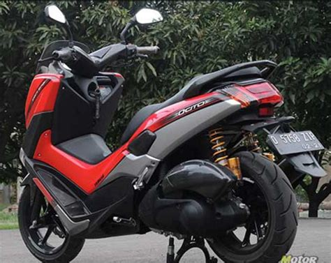 Cutting Nmax Elegan by Modifikasi Yamaha Nmax Cutting Sticker Collor Terbaru