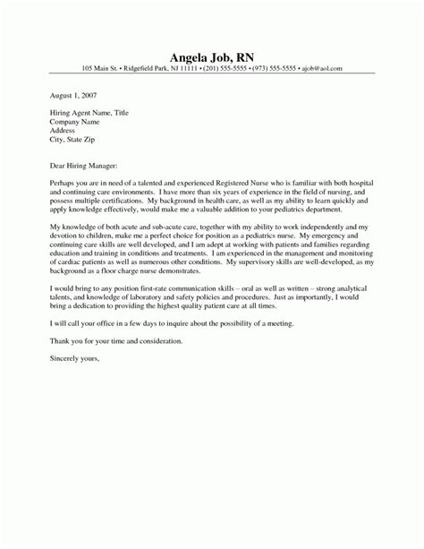Cover Letter For Nursing Position Exles by Doctors Office Pdf Coverletters And Resume Templates