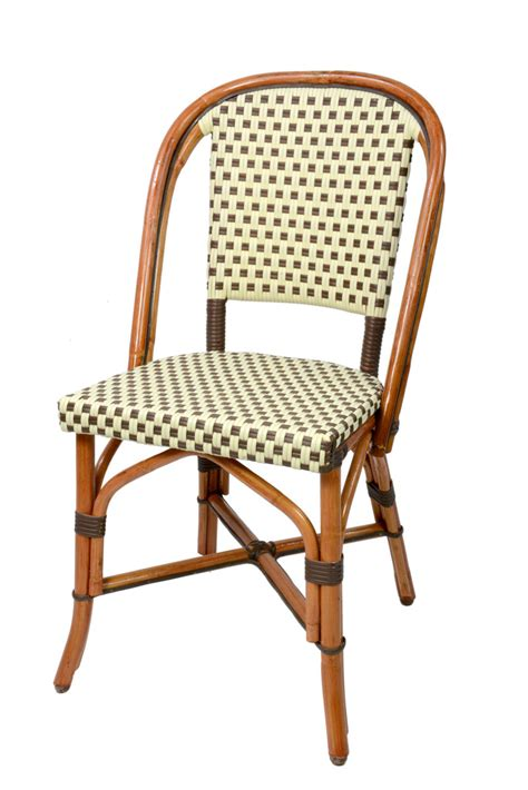 cafe chairs woven glac seat french bistro chair beige square ct81blesc suzy