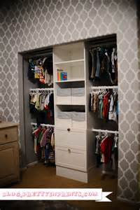 nursery closet organization using ikea stuva storage