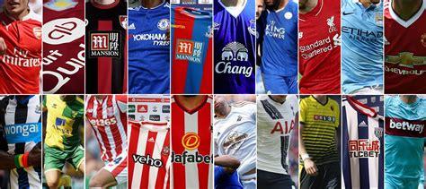 epl club 2015 16 premier league jersey sponsors soccer365