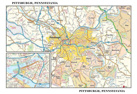 map usa pittsburgh pittsburgh map my