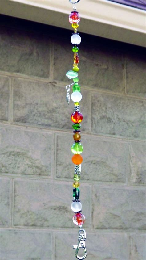 orange hummingbird feeder hanger by windspiritdesign on
