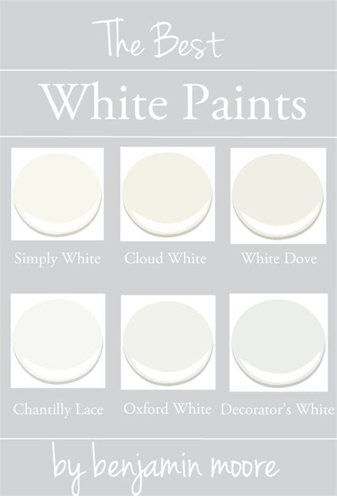 best white paint for walls 25 best ideas about benjamin white on
