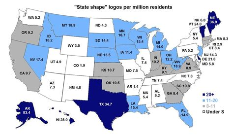 usa map with different states the state of logos 187 emblemetric