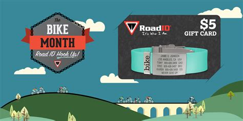 Road Id Gift Card - century cycles blog get a 5 gift card from road id