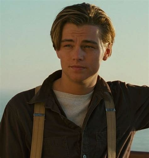 what is leonard dicaprio hairstyle called leonardo dicaprio titanic 90s leonardo dicaprio