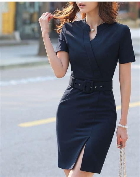 moda de oficina de mujer en pinterest faldas vestidos y m 225 s de 25 ideas incre 237 bles sobre vestidos para oficina en