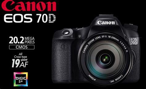 Pasaran Kamera Canon 70d Harga Kamera Dslr Canon Eos 70d Majalah Harga Info Promo Diskon Belanja 2018
