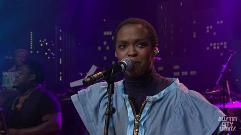 lauryn hill that thing ms lauryn hill quot doo wop that thing quot on austin city