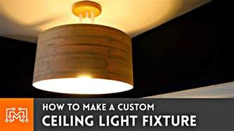 how to make a pendant light fixture how to make a custom ceiling light fixture