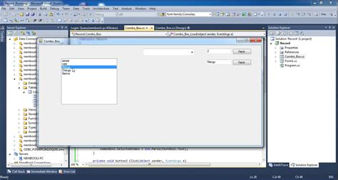 tutorial of asp net with c sharp c sharp complete listbox tutorial in tamil youtube