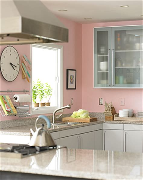 Yellow Painted Kitchens - the granite gurus 6 pink yes pink kitchens