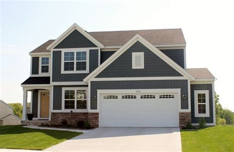 Ranch Style House Pictures Midnight Surf Siding Color Google Search House Color