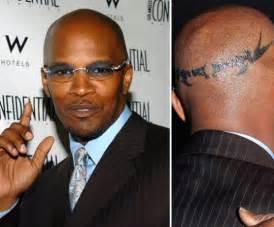 jamie fox tattoos celebritiestattooed com