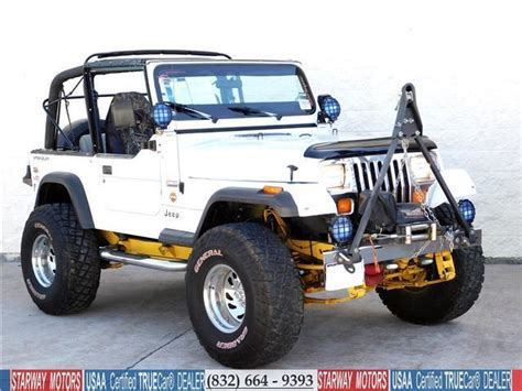 White Jeep Wrangler For Sale Jeep Wrangler White With 148 668 For Sale