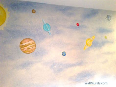space wall murals space wall murals exles custom outer space wall murals