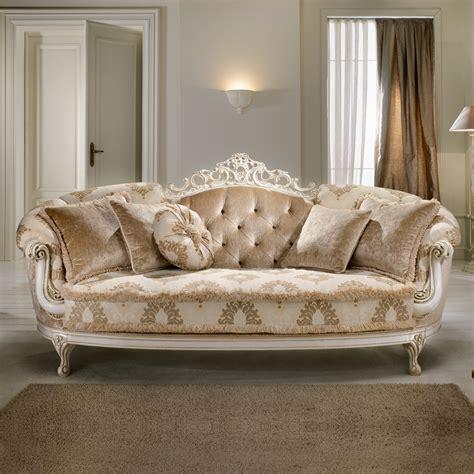 baroque style sofa italian ivory lacquered baroque style sofa